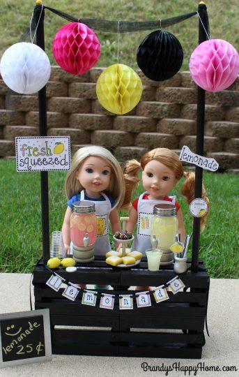 wellie wishers lemonade stand