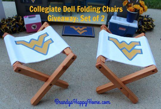 Collegiate doll chair set of 2