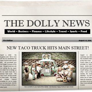 Doll Taco Truck Video