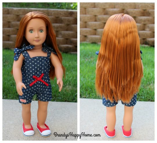 Our Generation doll hair