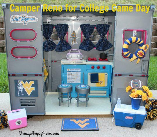 WVU doll camper 2