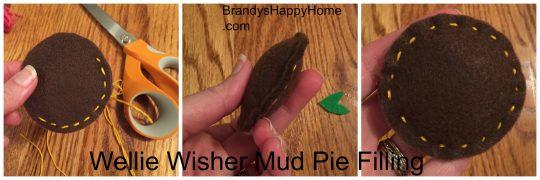 Wellie Wisher mud pie filling