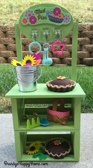 Wellie Wisher mud pie kitchen diy