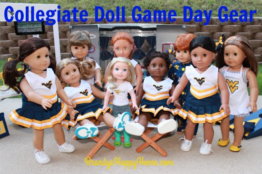 collegiate doll clothes