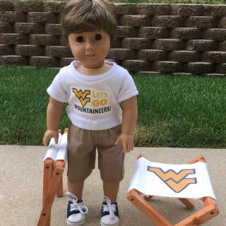 Doll Tailgate GIVEAWAY…Set of Two Doll Folding Chairs!