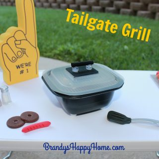 DIY Doll Tailgate Grill