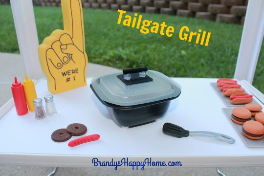 doll tailgate grill