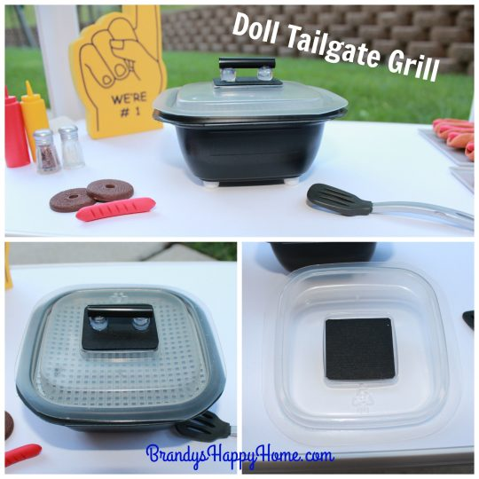 doll tailgate grill lid