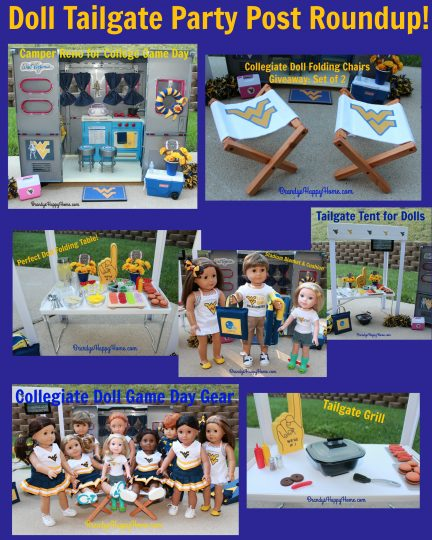 doll tailgate party round up
