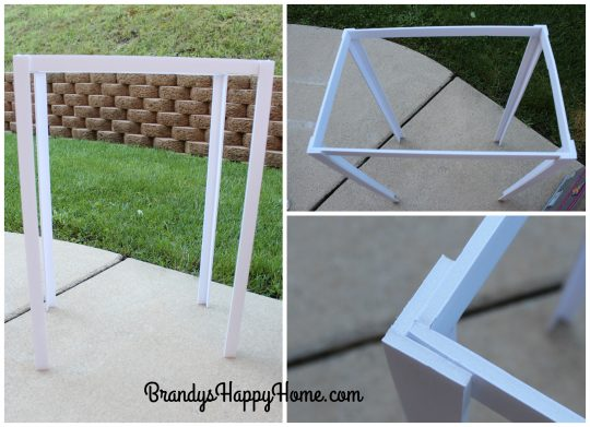 doll tailgate tent frame