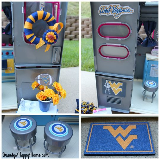 doll tailgating decorations