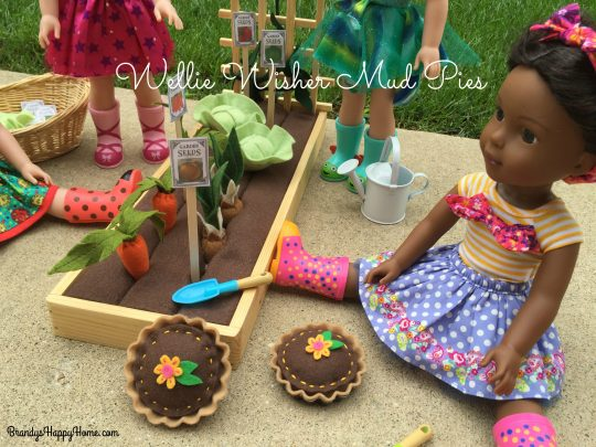 how to make wellie wisher mud pies