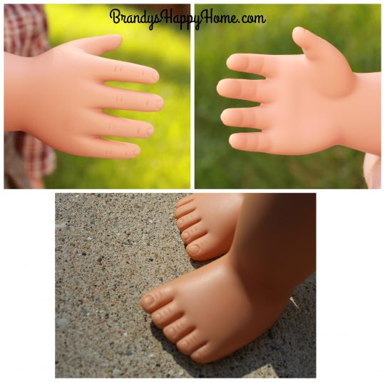 our generation doll hands and feet