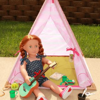 Our Generation Teepee and Campfire Set Review