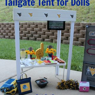 Doll Tailgate Tent