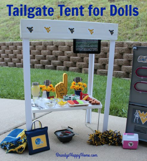 tailgate tent for dolls