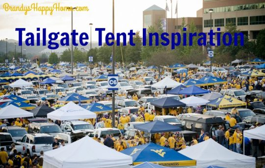 tailgate tent inspiation
