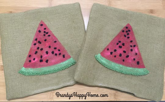 watermelon pillow casings
