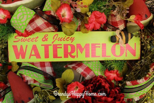 watermelon sign