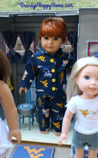 wv doll pajamas