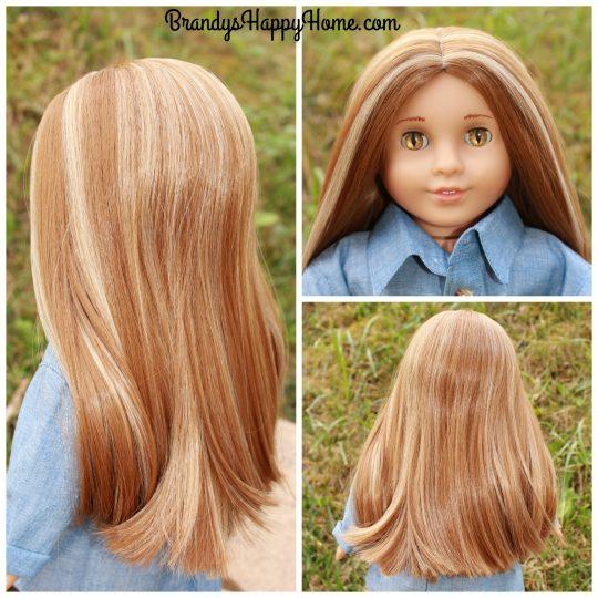Serafina doll wig