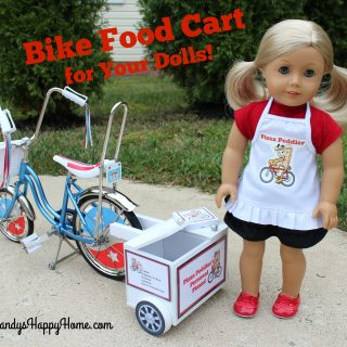 Food Cart for your Doll's Bike