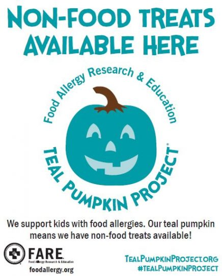 Image result for teal pumpkin meaning