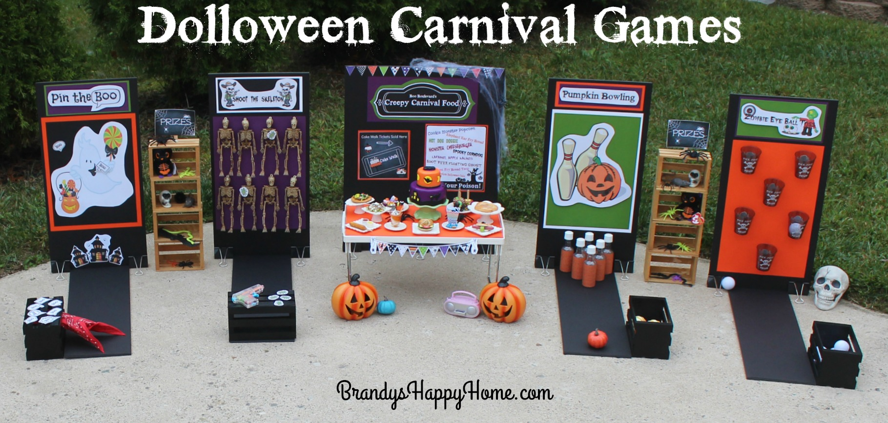 dolloween carnival part 2 carnival games