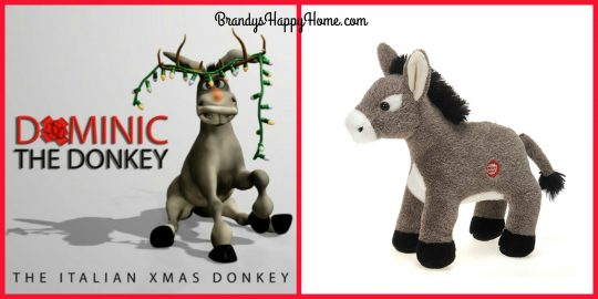 Dominic The Donkey Christmas Game