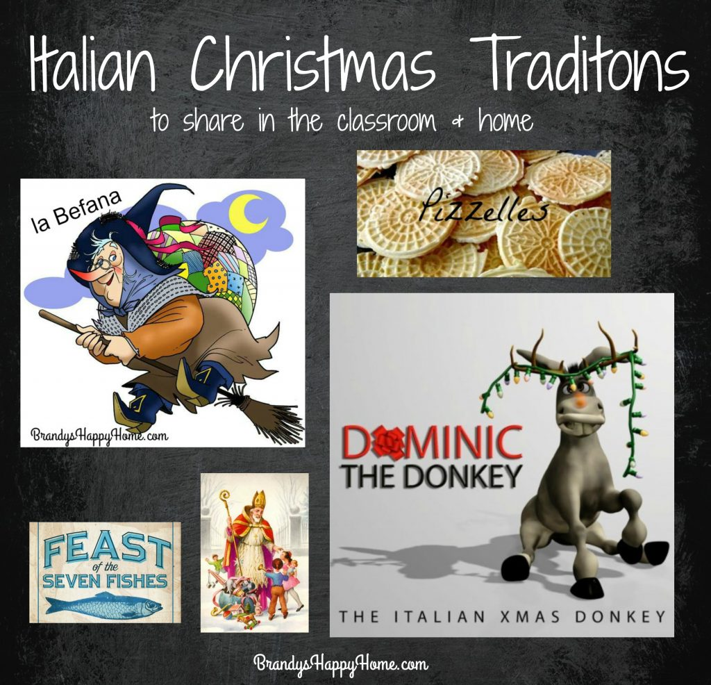 Italian Christmas Traditions For The Classroom