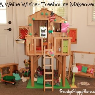 Wellie Wisher DIY Treehouse Renovation
