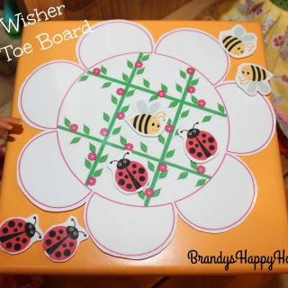 DIY Wellie Wisher Tic Tac Toe Board