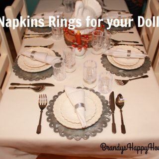 Doll Napkin Rings