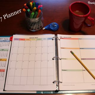 DIY 2017 Calendar Planner