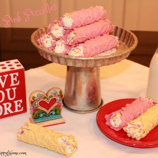 Dye Free Pink Pizzelles