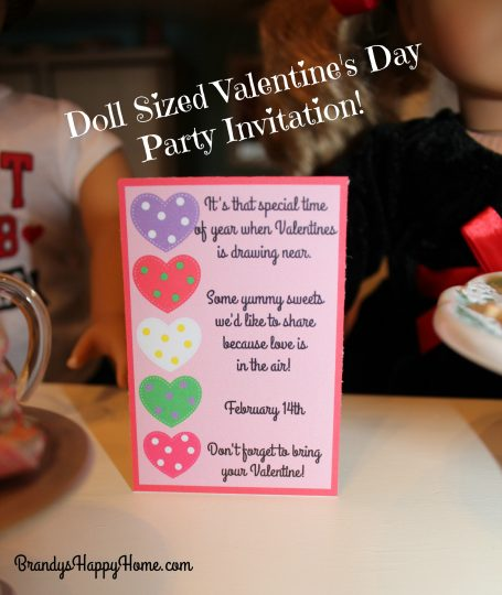 photograph about Happy Valentines Day Banner Printable identify Doll Valentines Working day Get together Invites Decorations