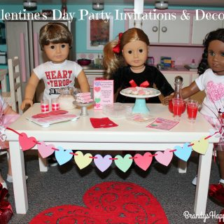 Doll Valentine's Day Party Invitations & Decorations