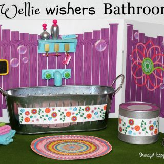 DIY Wellie Wishers Tub and Potty