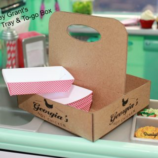 Tenney's Paper Food Trays and To-Go Box