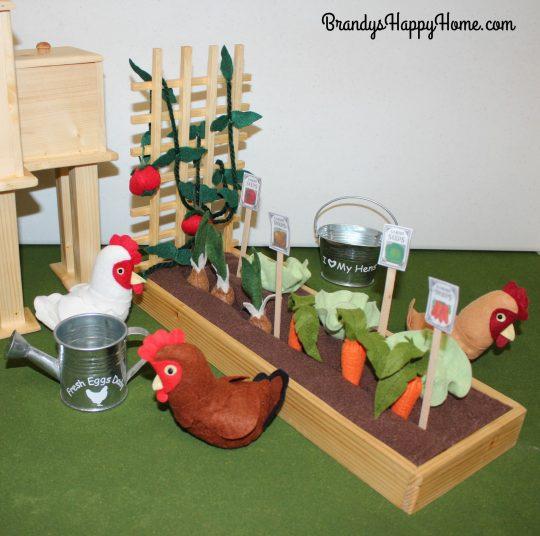 Doll Gardens & Chickens