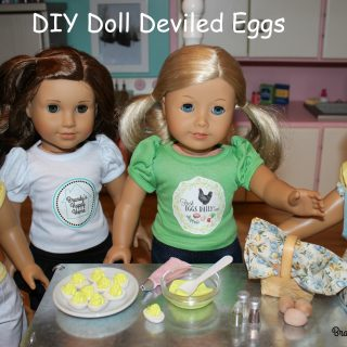 DIY Doll Sized Deviled Eggs