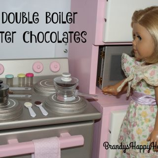 Doll DIY Double Boiler &  Easter Chocolates