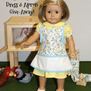 Doll Feed Sack Dress & Apron GIVEAWAY!