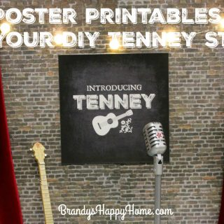 Tenney's Stage: DIY Posters