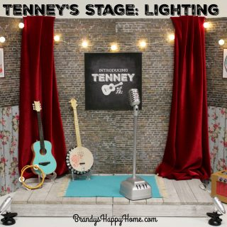 DIY Tenney's Stage: Lighting