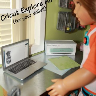 American Girl Doll Cricut Box and Mats