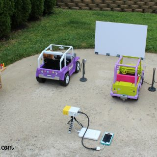 Doll Drive-In Movie Projector