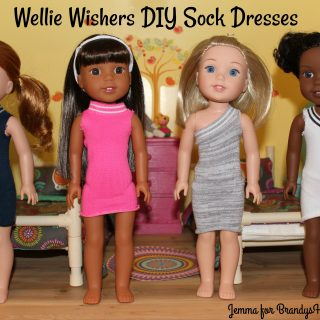 Wellie Wisher No-Sew Sock Dresses