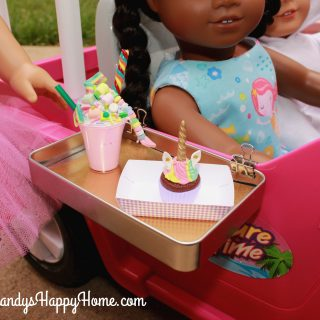 Unicorn Cafe Paper Food Trays & Drive-In Trays