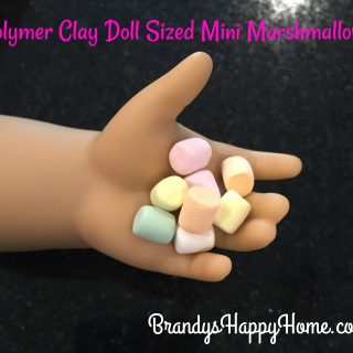 Polymer Clay Mini Marshmallows